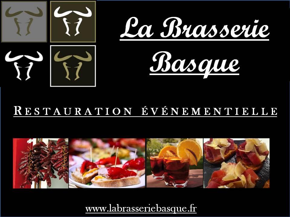 Carte Visite La Brasserie Basque