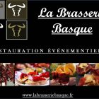 carte visite la brasserie basque